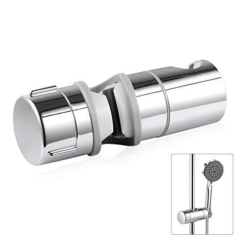 DIMJ Handbrause Halterung, verstellbar Brausehalter für 18-25 mm Handbrause oder Duschkopf, 360°drehbar, ABS Grade