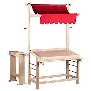goki 51808 kaufl den und zubeh r marktstand spielzeug. Black Bedroom Furniture Sets. Home Design Ideas