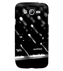 ColourCraft Creative Key Board Design Back Case Cover for SAMSUNG GALAXY GRAND NEO PLUS I9060I