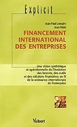 Financement international des entreprises