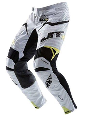 Preisvergleich Produktbild JT RACING Evolve Protek Hose Race Farbe white-black-yellow UK 38