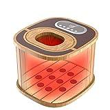ZOUQILAI Secchio della vasca del bacino del piede di legno per il vapore d'ebollizione del piede di immersione e massaggio della stazione termale Temperatura costante intelligente, multi-velocità rego