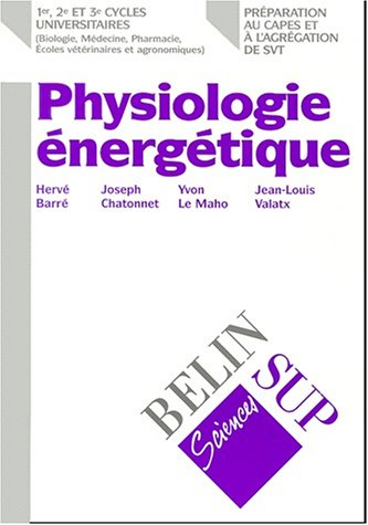 La physiologie énergétique