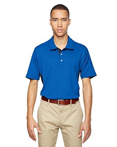 Adidas Golf puremotion® Colorblock-Polo da uomo, 3 strisce BRT ROYAL/BLACK