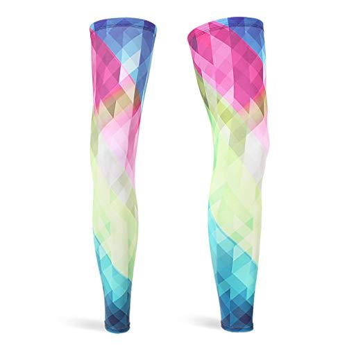ZZBO Eng und Bequem Oberschenkel Beinstulpen für Damen Sonnencreme Beinlinge für Exakte Wadenkompression 3D Skelett Spinnennetz Amerikanische Flagge Bunt Gedruckt Leggings für den Sport -