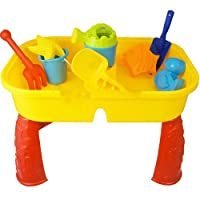 BARGAINS-GALORE CHILDRENS KIDS TODDLER SAND AND WATER PLAY TABLE ACTIVITY SANDPIT ACCESSORIES