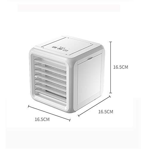 WZR 3 en 1 Mini Refroidisseur évaporatif,Personnel Pliable Humidificateur USB Accueil Office La Table De Nuit Dorm-a 16.5x16.5x16.5cm(6x6x6i... 5