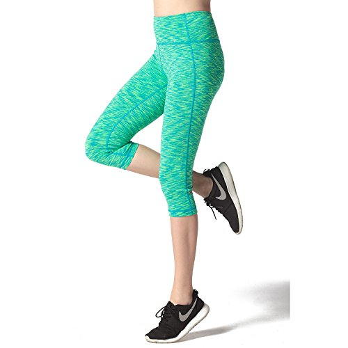 Lapasa-Donna-Capri-Leggings-34-Allenamento-Opaco-Yoga-Fitness-Spandex-Palestra-Pantaloni