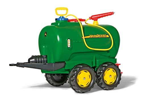rolly toys - 12 275 2 - Remorque - Citerne Rollytanker John Deere - Deux Essieux + Pompe + Arroseur