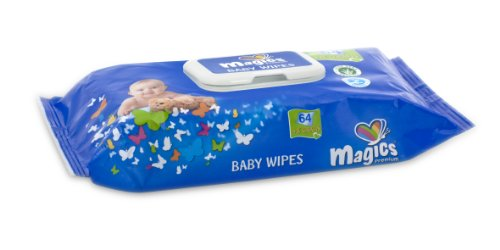 babies best Magics Baby Feuchttücher 72 Stück, 12er Pack (12 x 72 Stück)