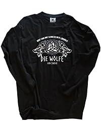 Original Viking-Shirts T-Shirt | Hört nur das schreien der Lämmer- die Wölfe sind zurück | 100 % Baumwolle | bequem & hoher Tragekomfort