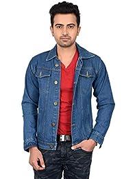 Waiverson Slim Fit Blue Denim Jacket
