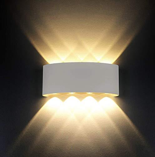 Lampada Da Parete Ip65 Impermeabile Moderno 8 W Led Lampada Da