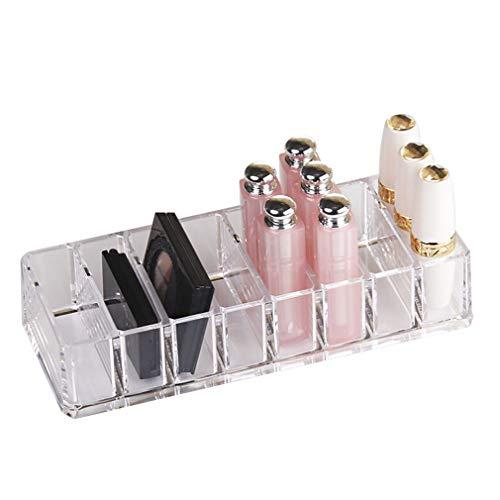 Boîte de Rangement de Maquillage Cosmetic Organizer Bathroom Bedroom, pour Pinceaux, Rouge À Lèvres, Fond de Teint, Accessoires