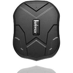 Juneo TKSTAR 3 Monate Standby Real Time Diebstahlschutz GPS-Tracker für Fahrzeug mit starker Magnet 5000mah BatterieTK905
