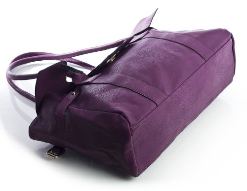Big Handbag Shop, Borsa a spalla donna One Nero (nero)