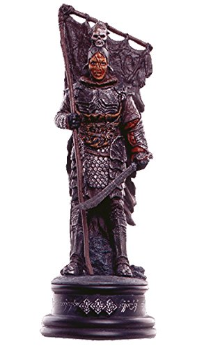 Lord of the Rings Chess Collection Nº 18 Orc Lieutenant 1