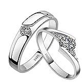 d1c1de31f5cf SELUXU Anillo de diamante elegante anillos de cristal de la boda joyería  para mujeres novia