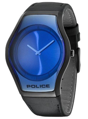 Police - P12096JSB-08 - Montre Femme - Quartz - Analogique - Bracelet cuir noir