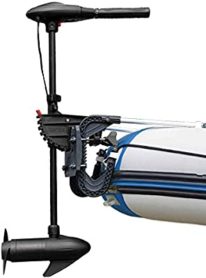 Intex 68631 - Motor fueraborda eléctrico 12 V DC / 480 W, 8 marchas