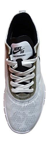 Nike Sb Lunar Paul Rodriguez 9, Scarpe da Skateboard Uomo Blanco (Blanco (white/black-wolf grey-pure platinum))