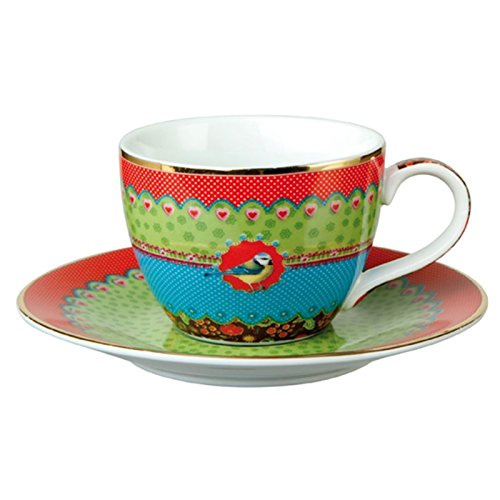Goebel Eva Maria Nitsche Cheeky Blue Tit - Espressotasse Natural Harmony