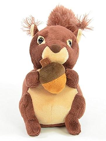 BUSDUGA Labertiere , Wir sprechen alles nach - Wählen Sie ihre Figur aus (Laber-Eichhörnchen)