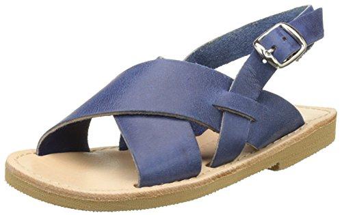 THELUTO Gildas, Sandales Bout Ouvert Garçon Bleu (Bleu Bougie)