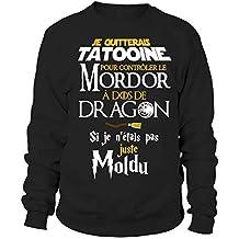 Closset Tatooine   Seigneur des Anneaux   Dragons   Moldus   Sweat Unisexe  Humour Geek 07363b077368