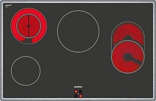 Siemens EQ523KA00 Herd-Kochfeld-Kombination / Einbau / 59,4 cm / Glaskeramik-Kochfeld / Vier high Speed-Kochzonen / Vollglas-Innentür / 3D-Heißluft /  Schnellaufheizung