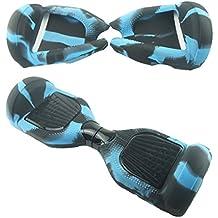 Full-body Planeador silicona Jelly–Carcasa de silicona para Swegway Smart Dos Ruedas Auto Equilibrio eléctrico Scooter–Tabla de equilibrio pantalla accesorios para 6,5pulgadas oscilante