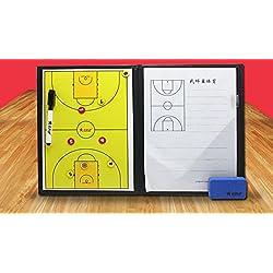 Panel del gráfico de Sandbox de la táctica del baloncesto de entrenadores carpeta magnética