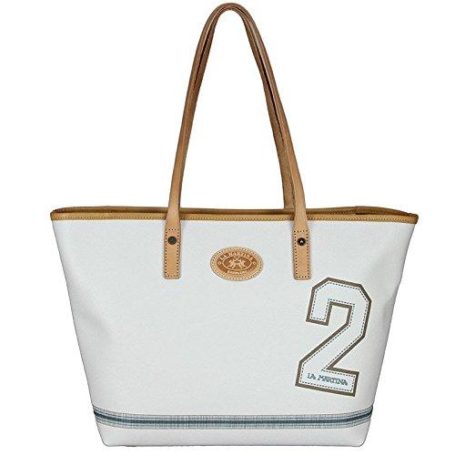 Shopping bag multicolore, La Martina linea Ananas