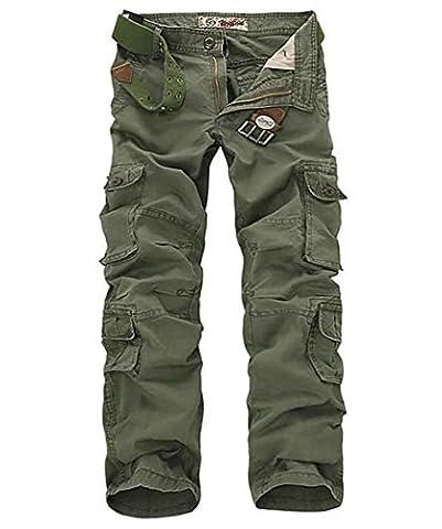 Cloudstyle Pantalon de travail style cargo - multipoches pour