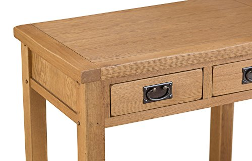 Get Staffordshire Rustic Oak Desk Review