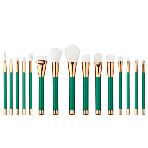 Vococal Pinceaux à Maquillage Professionnelle,15 Pcs
