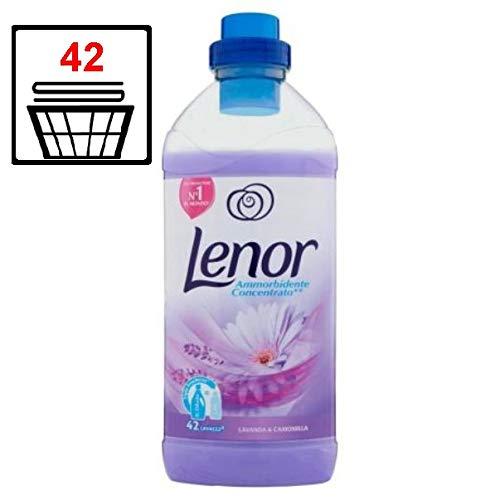 8er Pack - Lenor Weichspüler Konzentrat - Lavendel und Kamille - 1,05 Liter (42 Wäschen)