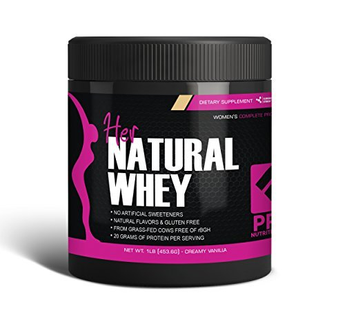 Pro Nutrition Labs Protein Powder For Women For Weight Loss & To Support Lean Muscle Mass (Creamy Vanilla) - Net Wt. 1 Lb