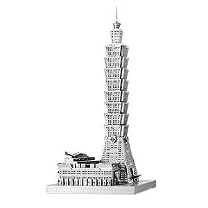 Fascinaciones ICX007 - la Tierra del Metal, Taipei 101, Juguetes de construcción