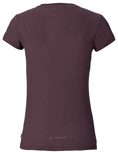 VAUDE Damen T Shirt Cyclist Dark Plum