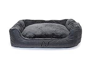 Mit dem Hundebett von Happilax kaufst Du ein Produkt eines deutschen Unternehmens mit deutschsprachigem Kundenservice und Ansprechpartnern, die sich persönlich um Dein Anliegen kümmern!Woher weiß ich ob das Hundebett für meinen Hund geeignet ist?Beob...