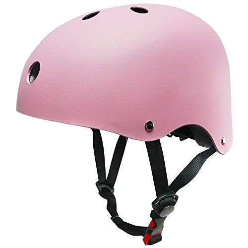 SKL Sporthelm, Damen/Herren, Helm für Skates/ Fahrrad, matt, bunt (Skates Abdeckung Roller)