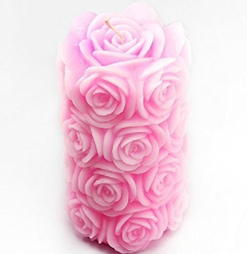 yl-rose-bougie-m252-savon-moule-craft-silicone-moisissures-diy-handmade-soap-ere