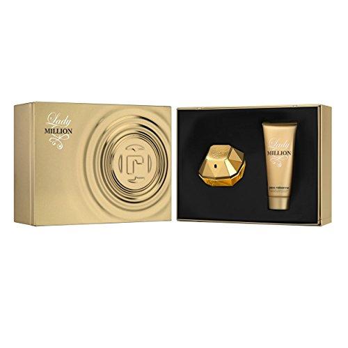 llion Set femme/women, Eau de Parfum Vaporisateur/Spray 80 ml, Bodylotion 100 ml, 1er Pack (1 x 180 ml) ()