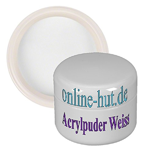 Acryl Puder Weiss 30 ml
