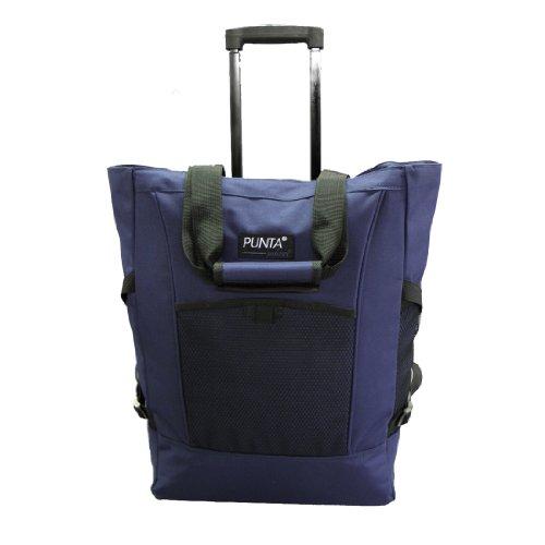 Einkaufstrolley/-tasche PUNTA, blau - (06980 FB. 600)