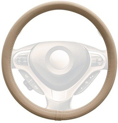 Autosun Premium Steering Cover Beige for Hyundai Verna Fluidic  available at amazon for Rs.245