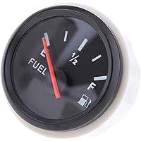 D DOLITY Indicador de Nivel de Combustible Eléctrico con LED Reparación de Barco Marino Duro -