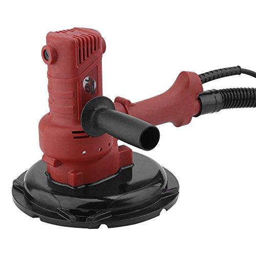 OUTAD Trockenbauschleifer Wandschleifer Deckenschleifer 1280 Watt Durchmesser 180 mm inkl. Absaugschlauch, Fangsack, Soft-Griff