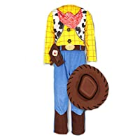 Official Disney Pixar Toy Story Woody fancy dress Boys Cowboy Costume 3-4 Years with Stetson Hat